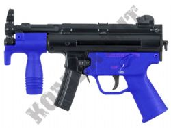 Well G55A MP5K SMG Replica Gas Airsoft BB Machine Gun 2 Tone Blue Black